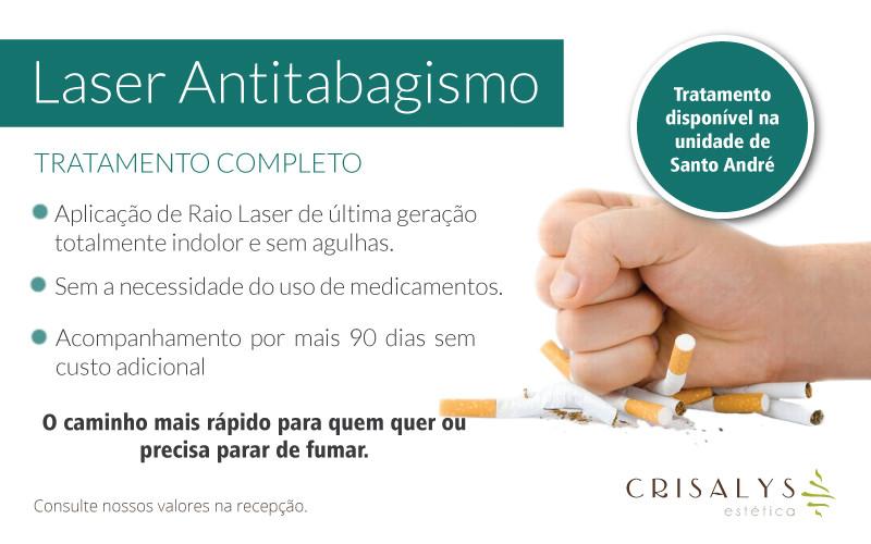 Pare de Fumar com o Laser Antitabagismo